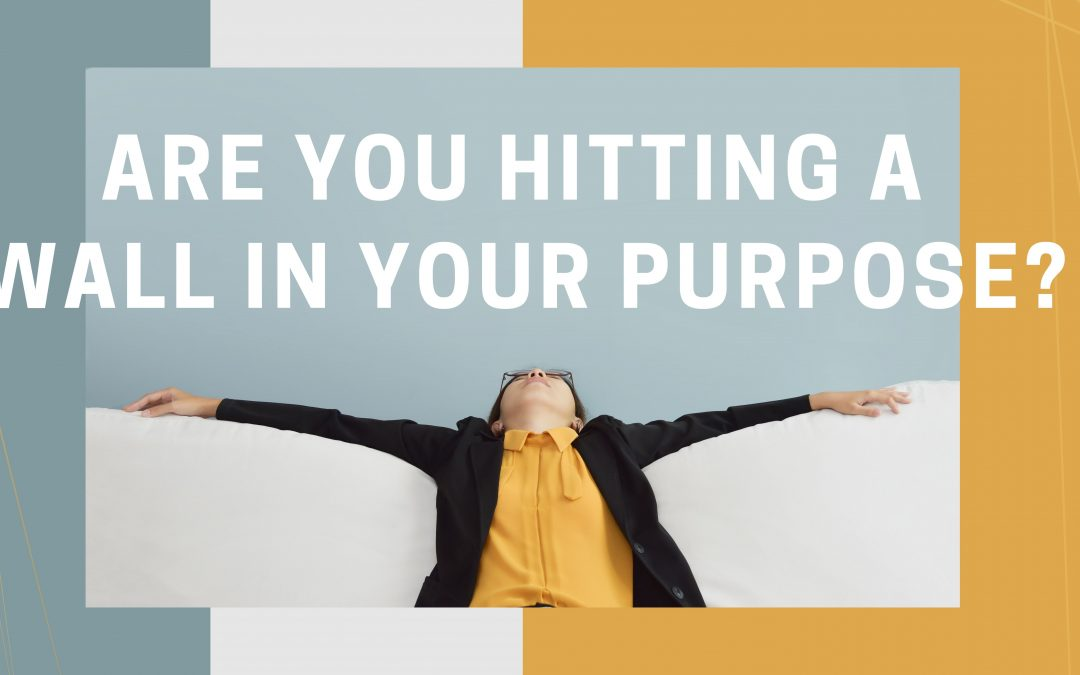 Are You Hitting a Wall in your Purpose?